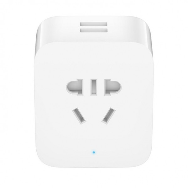 Умная Wi-Fi розетка Xiaomi Mijia Smart Socket Plus 2 USB (ZNCZ03CM)