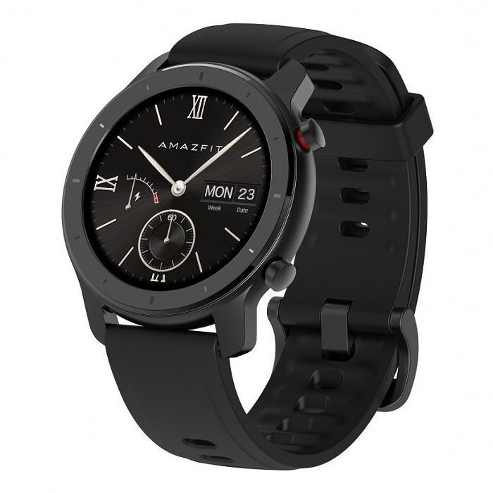 Умные часы Xiaomi Amazfit GTR Starry Black 42mm (A1910) EU - черный