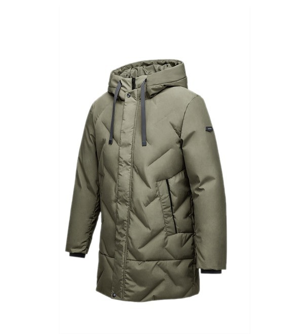 Куртка Xiaomi 90 Points Seamless Down Jacket 3131 (180/96A, XL) - хаки